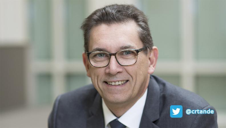 Charles-René Tandé, président de l'Ordre des experts-comptables